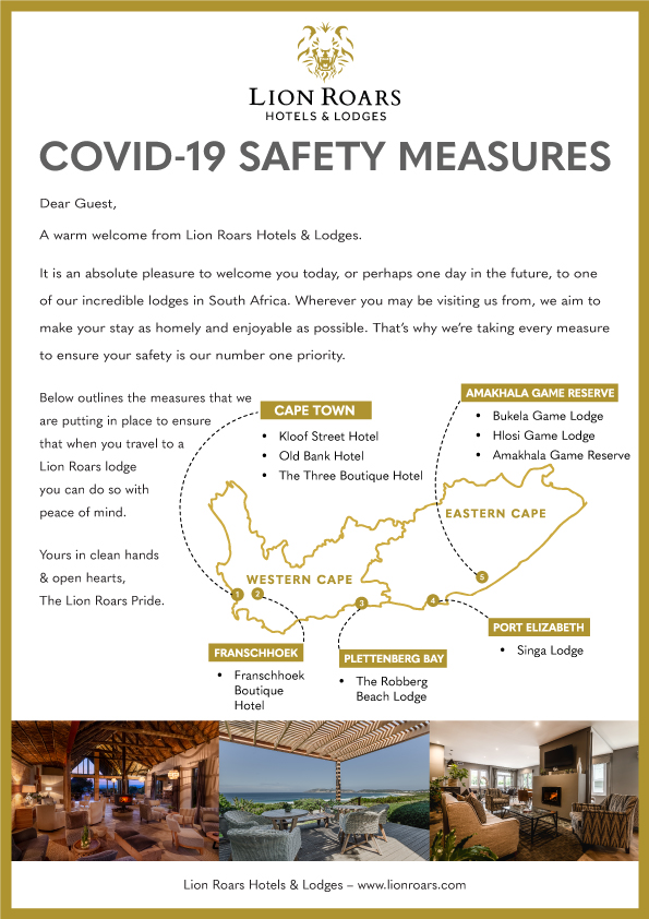 Lion Roars Covid Precautions Safety Measures1