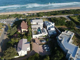 The Robberg Beach Lodge Aerial View Beach View