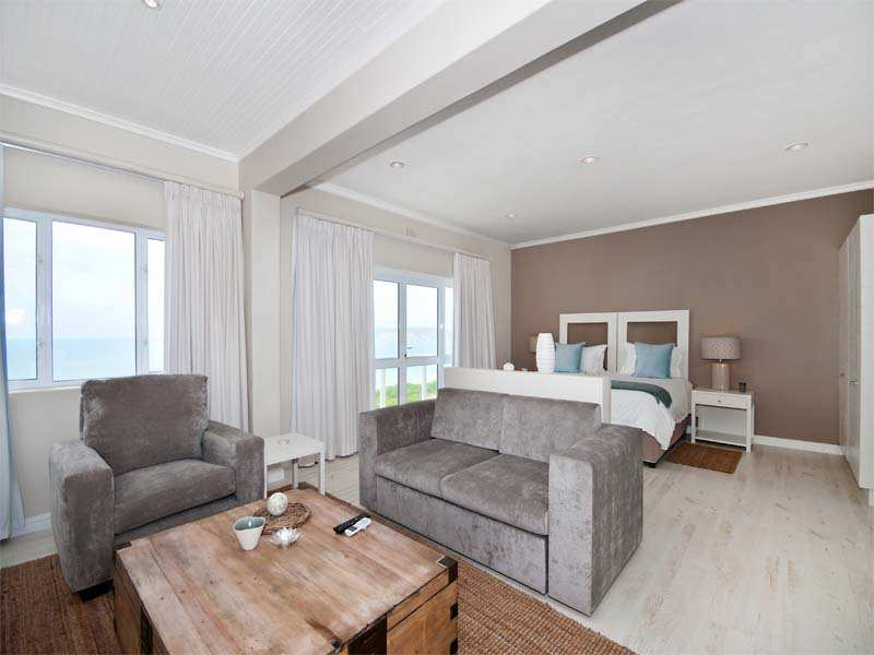 The Robberg Beach Lodge Ocean View Suite Plettenberg Bay Sitting Area Bedroom And View