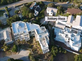 The Robberg Beach Lodge Aerial View Robberg House