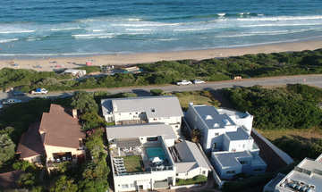 The Robberg Beach Lodge Plettenberg Bay Arial View