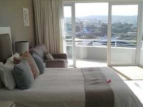 The Robberg Beach Lodge View Room R10 Bedroom And View
