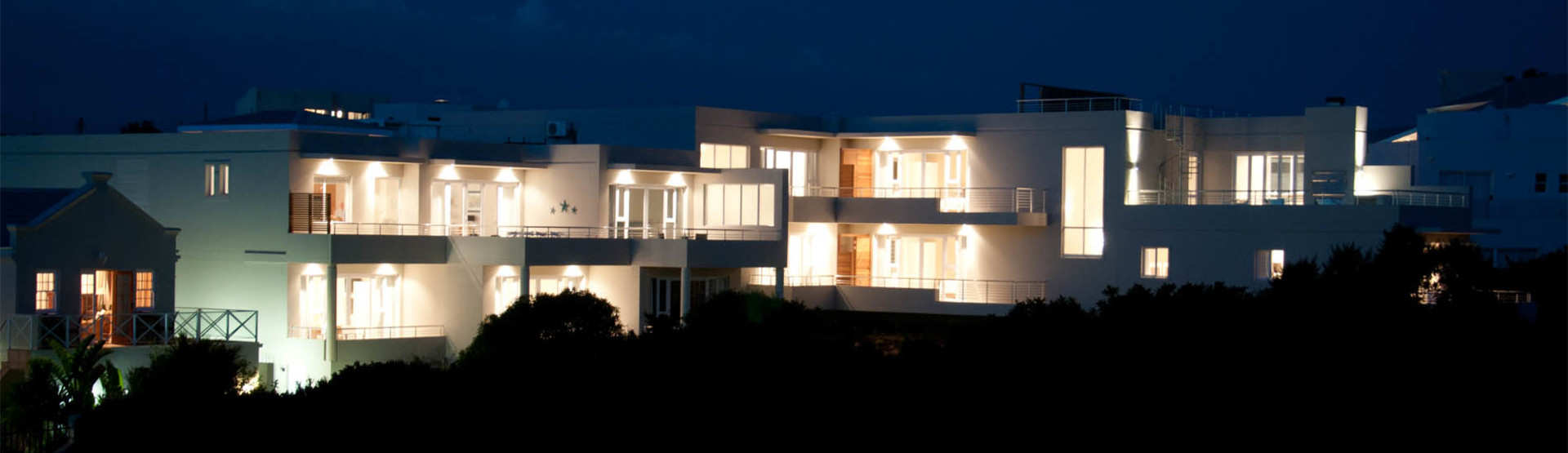 The Robberg Beach Lodge Plettenberg Bay South Africa View At Night
