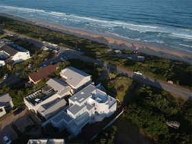 The Robberg Beach Lodge Aerial View Beachy Head Villa Reception Building