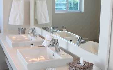 The Robberg Beach Lodge View Suie R9 Plettenberg Bay Bathroom Double Sinks