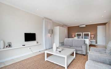 The Robberg Beach Lodge View Suite R9 Plettenberg Bay Bedroom And Sitting Area